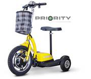 STAND-N-RIDE is a Simplified Mobility Scooter